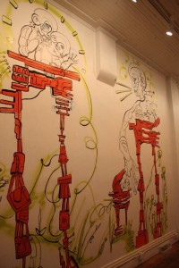 Lex Covato art mural illustrator