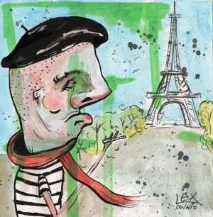 lex covato French Man illustration TRAVLE PARIS ART.jpg